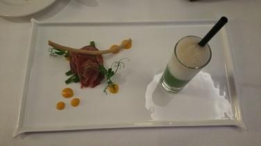 Hotel Vier Jahreszeiten Starnberg - Restaurant Aubergine Amuse Bouche