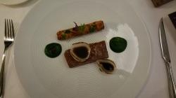 Hotel Vier Jahreszeiten Starnberg - Restaurant Aubergine Dry Aged Beef mit Grünkohl, Zwiebel, Kartoffel