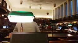 Deutsche Nationalbibliothek Leipzig - Lesesaal der Geisteswissenschaften