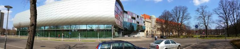 Deutsche Nationalbibliothek Leipzig - Panorama