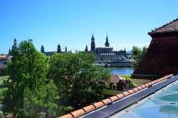 Hotel The Westin Bellevue Dresden Ausblick bei Tag